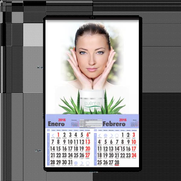 Calendario de pared pequeño personalizado para empresas