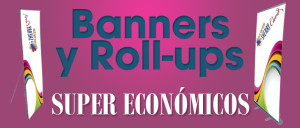 Rollup, roll-up, banner