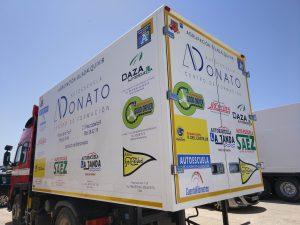 Rotulacion de camiones para autoescuela