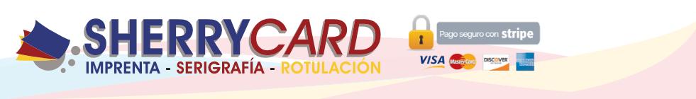 Sherrycard: Imprenta – Serigrafía – Rotulación