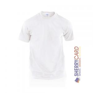Camiseta adulto blanca hecom makito 4199